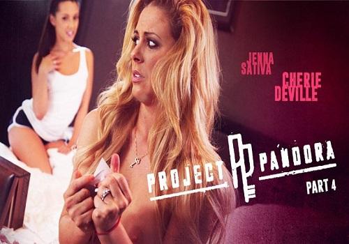Cherie Deville, Jenna Sativa – Project Pandora Part Four (Girlsway/2016)