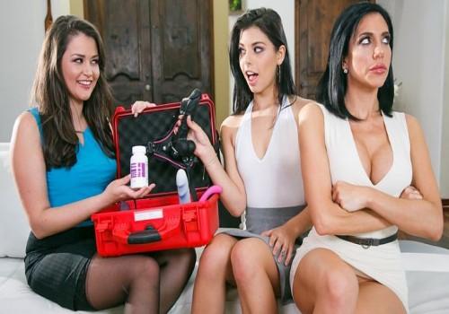 Allie Haze, Jaclyn Taylor, Gina Valentina – The Family Sexologist (MommysGirl/2017)