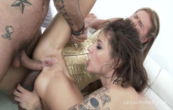 Nikita Belucci & Timea Bella in double anal foursome SZ970 (Legalporno/2017)