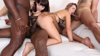 Milana Love, Sasha Colibri – Nasty bitches Milana Love & Sasha Colibri going crazy for black cocks IV261 (LegalPorno/2019)